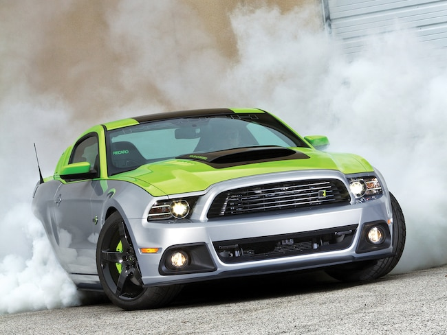 2013 Ford Mustang Roush Phase 3 Burnout