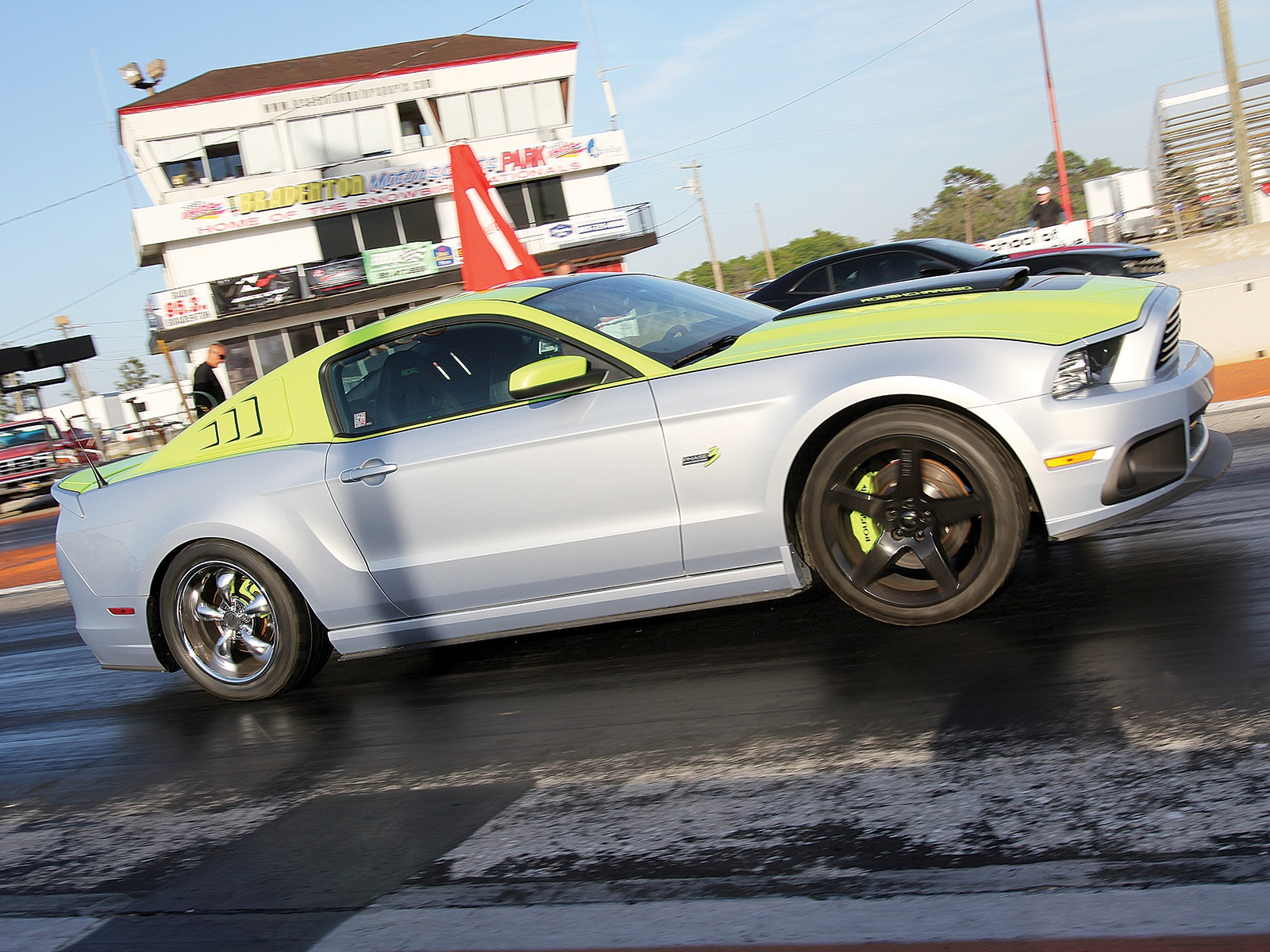 2013 Ford Mustang Roush Phase 3 Side View Track