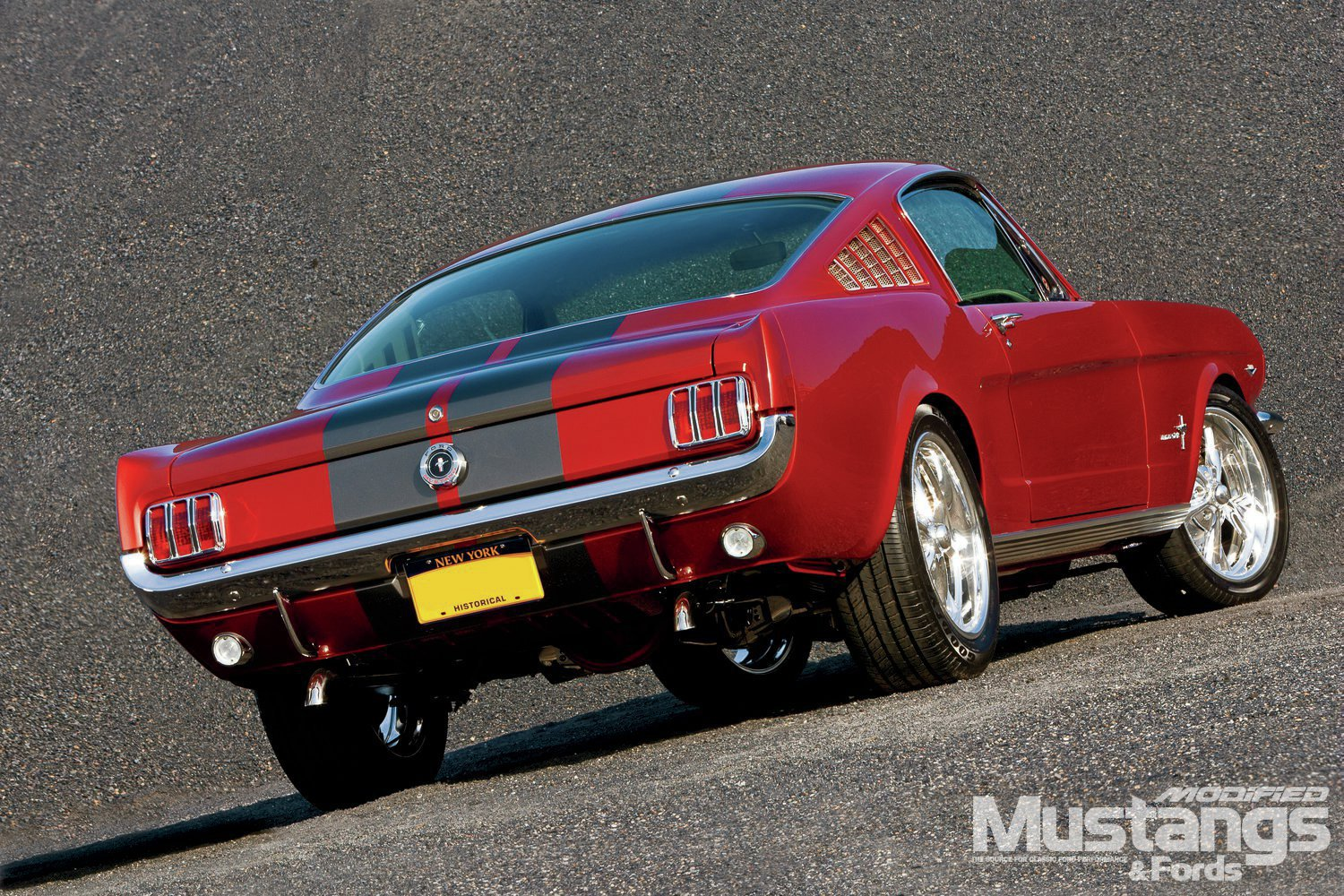 1965 Mustang Fastback Rear Three
