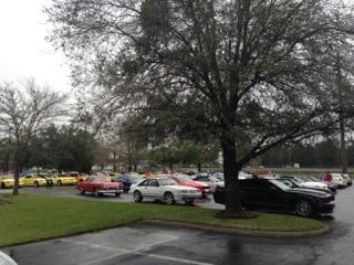 1401 Mustangs Npd Parking Lot