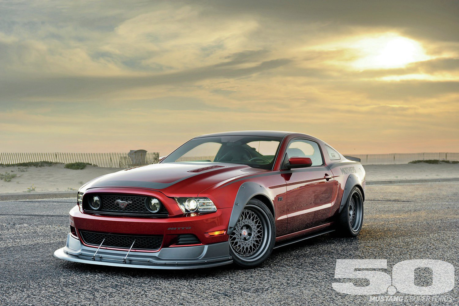 2013 Ford Mustang Rtr Spec 3 Front Side