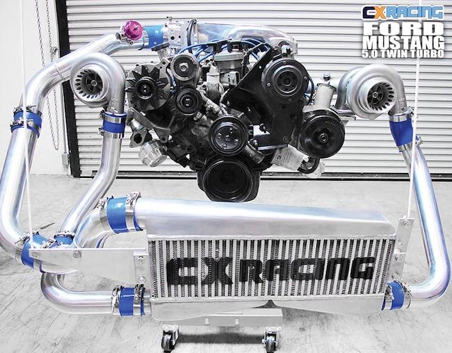Cxracing Twin Turbo Kit
