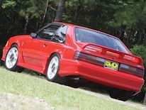 1991 Ford Mustang Rear View