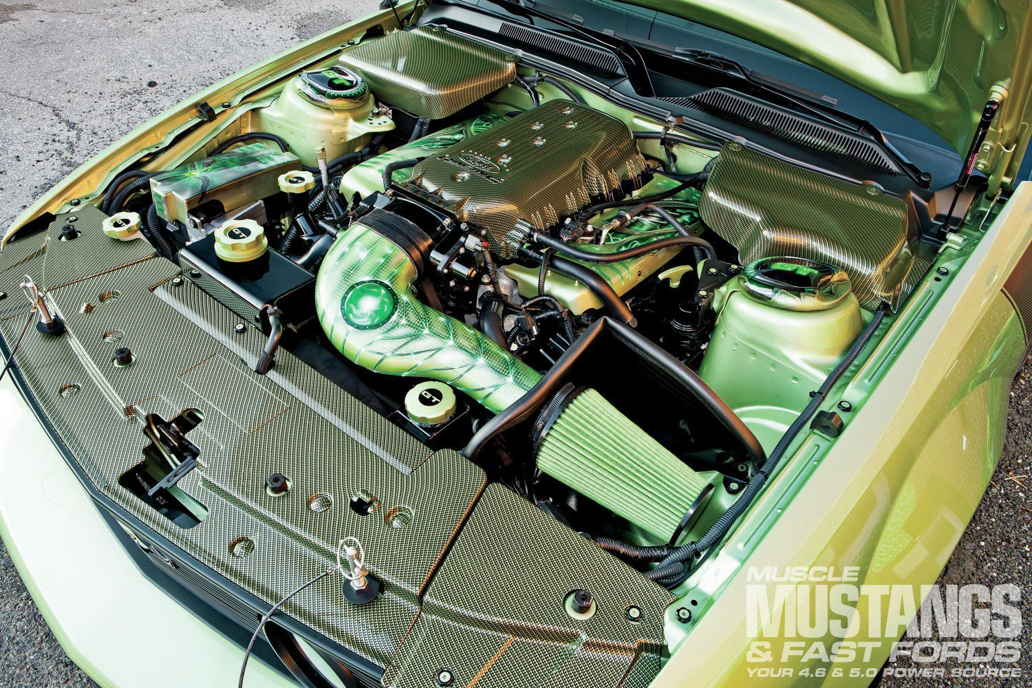 2006 Ford Mustang Gt Engine