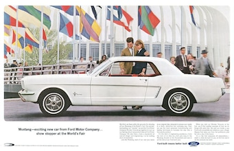 1960s Ford Mustang Ads Photo & Image Gallery