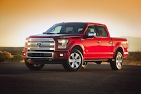 2015 Ford F150  1  Front Three Quarter