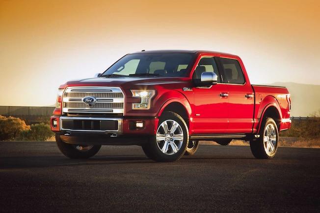 2015 Ford F150  1  Front Three Quarter