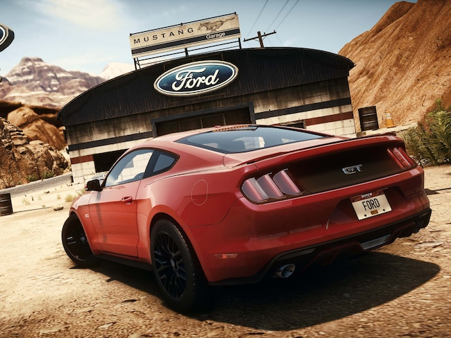 1312 2015 Ford Mustang Rear Need For Speed Rivals