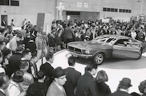 Ford Mustang Mach 1 1967 Detroit Auto Show