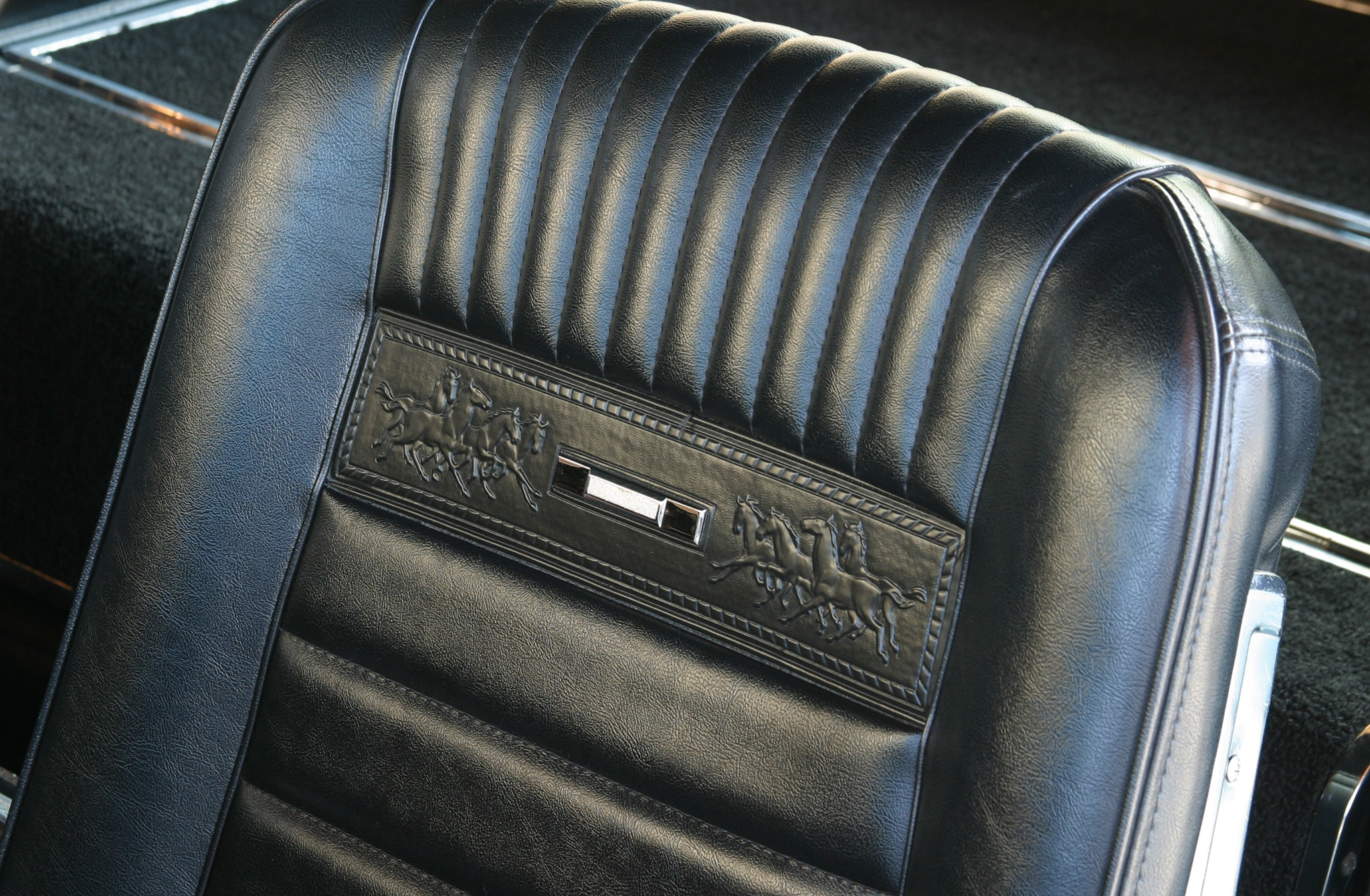 Ford Mustang Pony Interior Seats