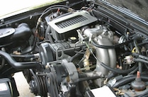 1980s Ford Mustang Engine