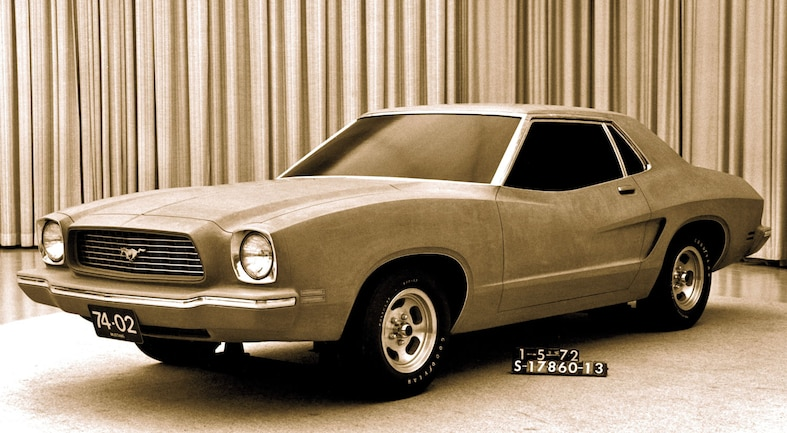 Ford Mustang Ii Front View