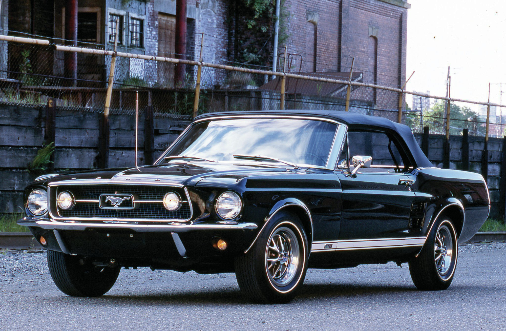 1967 ford mustang k code