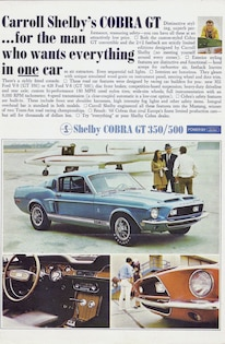 1967 Ford Mustang Shelby Gt Caroll Shelby