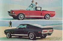 1967 Ford Mustang Shelby Gt Classic Mustangs
