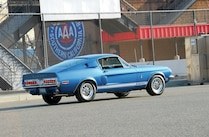 1967 Ford Mustang Shelby Gt Rear Side View