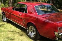 1405 1966 Ford Mustang Betsy Ann Montgomery Rear Three Quarter