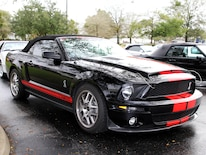 1401 Black Shelby Gt500 Ford Mustang Convertible