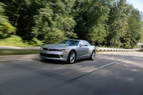 2015 Chevrolet Camaro Front Three Quarter In Motion