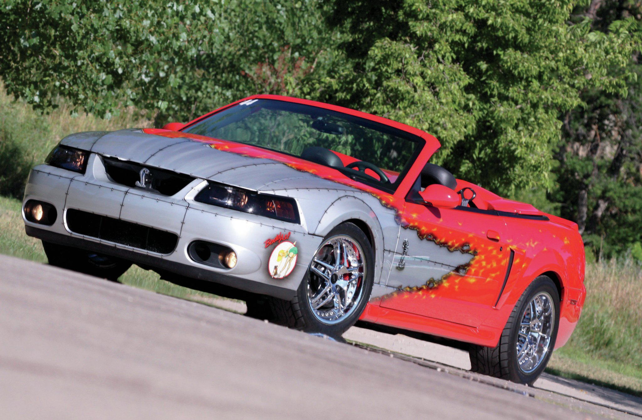 2003 Ford Mustang Cobra Front Side View