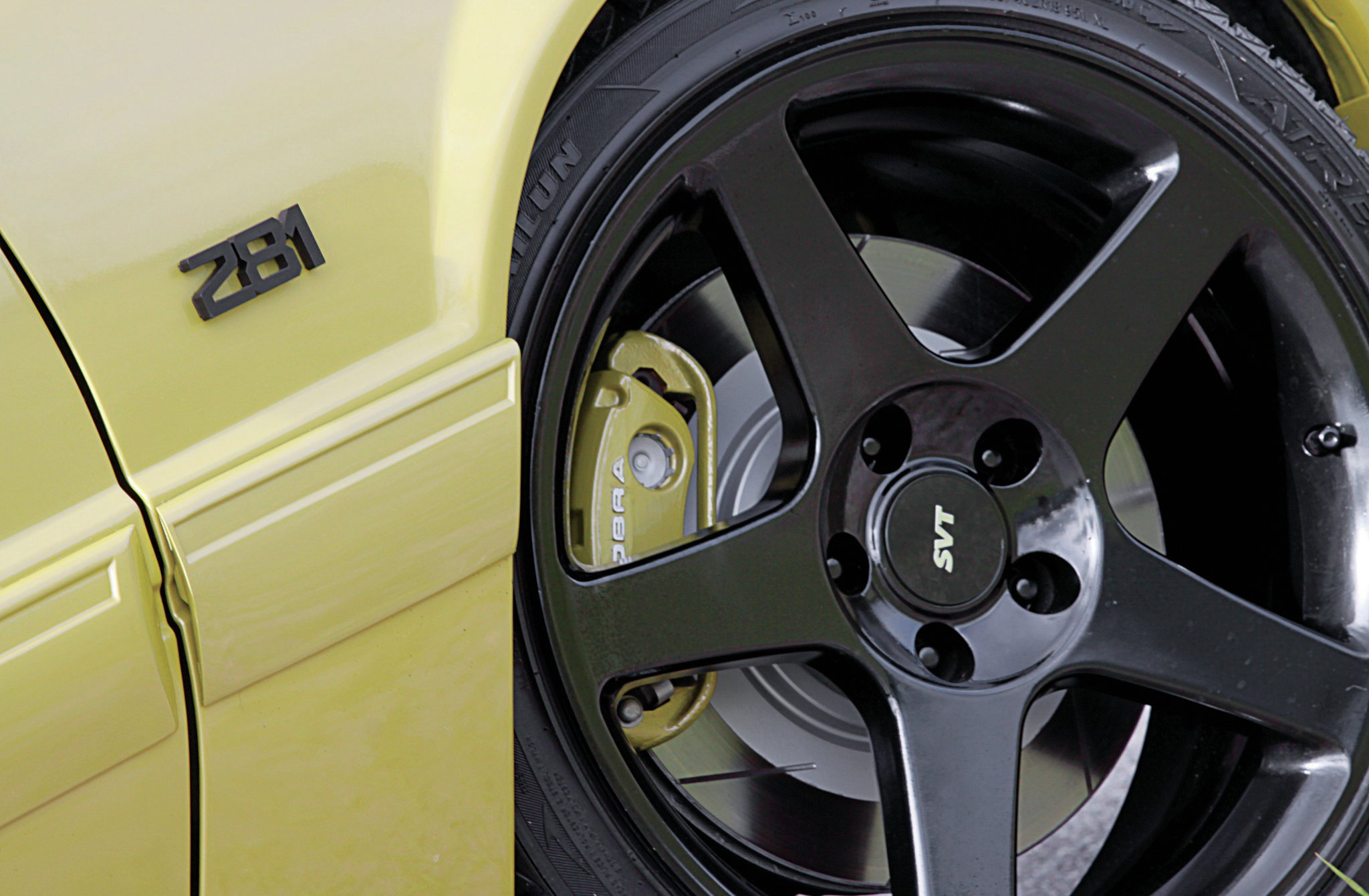 1987 Ford Mustang Lx Coupe Termi Wheels