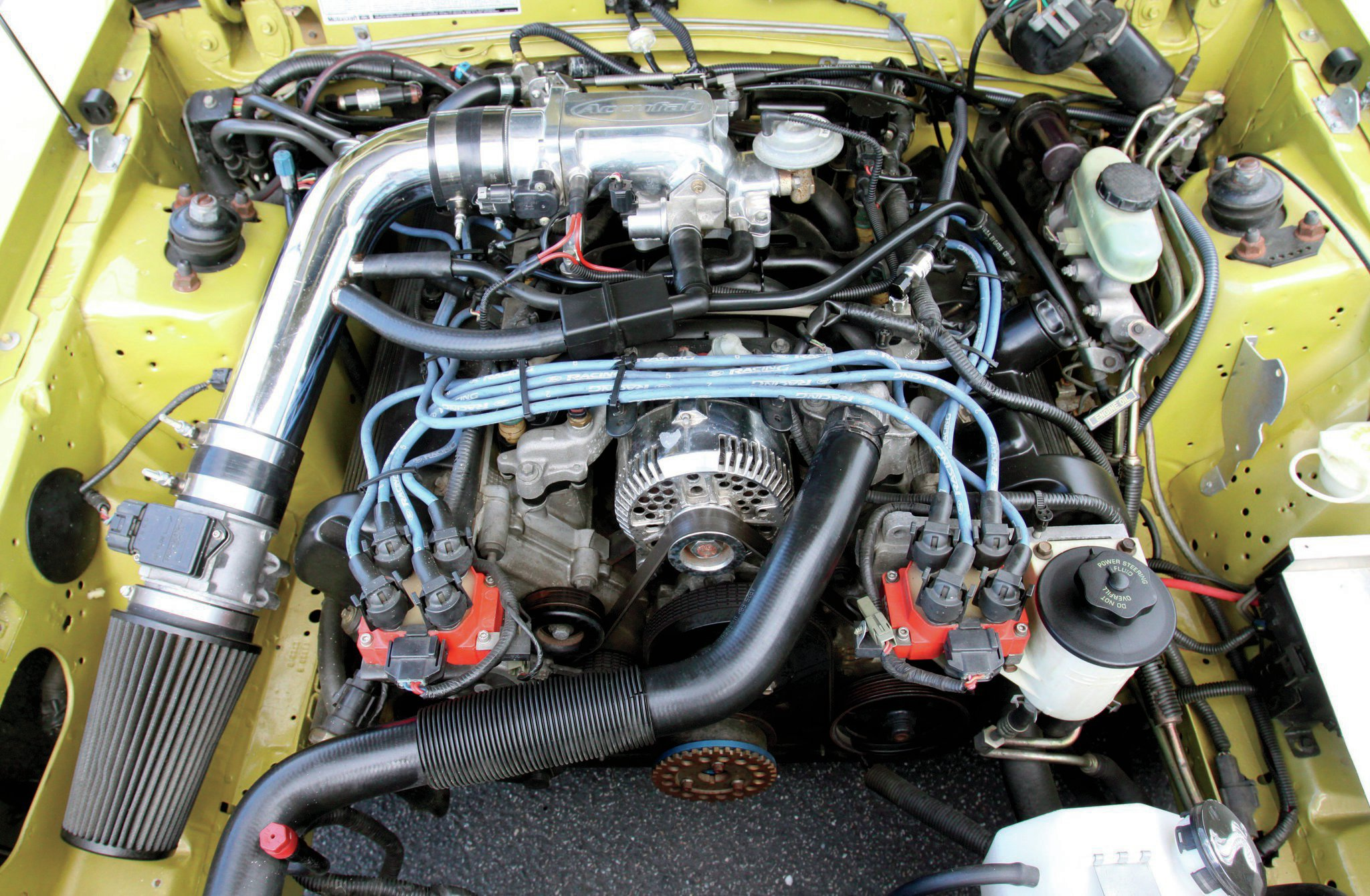 1987 Ford Mustang Lx Coupe Engine