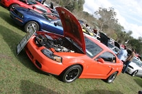 2004 Ford Mustang Competition Orange Terminator