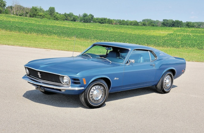 1970 Ford Mustang Sportsroof Front Quarter