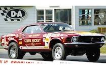 1970 Ford Mustang Cobra Jet Drag Racing