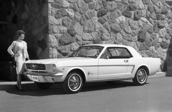 1965 Ford Mustang Model