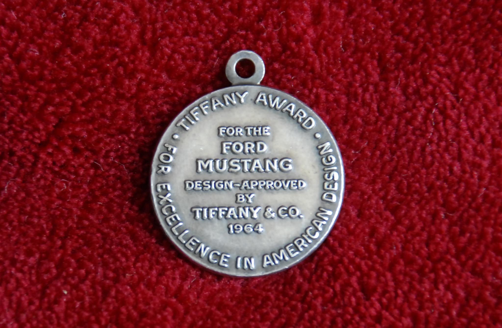 Tiffany Gold Medal Award Ford Mustang