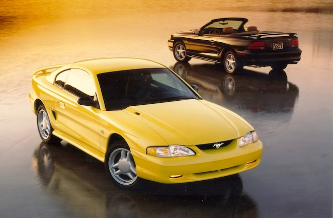 Ford Mustang Fourth Gen