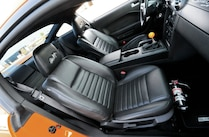 2008 Ford Mustang Shelby Gt Interior View