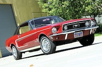 1968 Ford Mustang Hardtop Front View