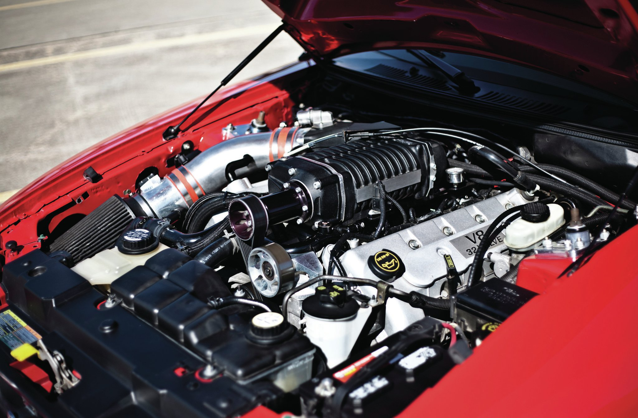 2004 Ford Mustang Engine