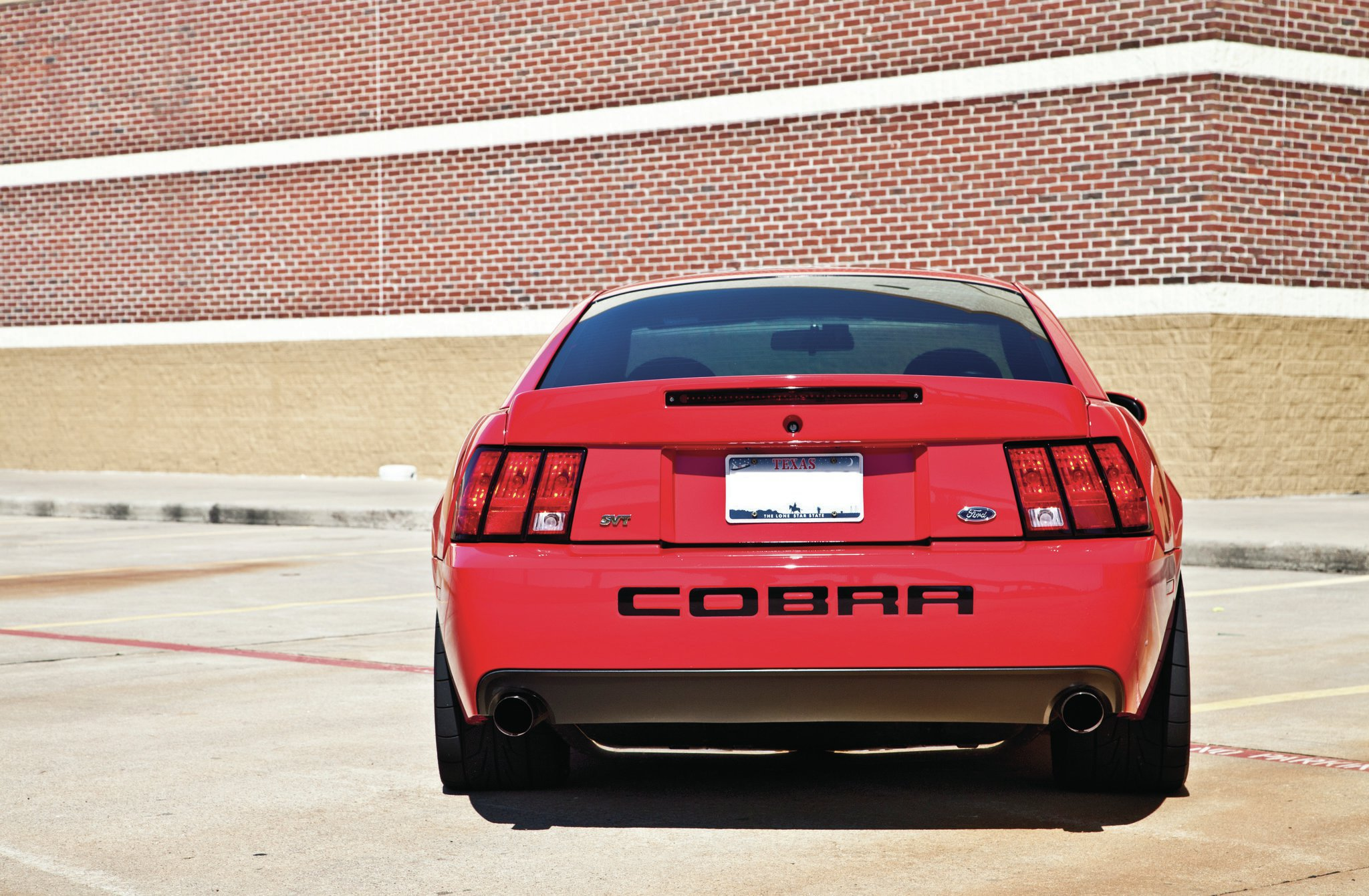 2004 Ford Mustang Rear View