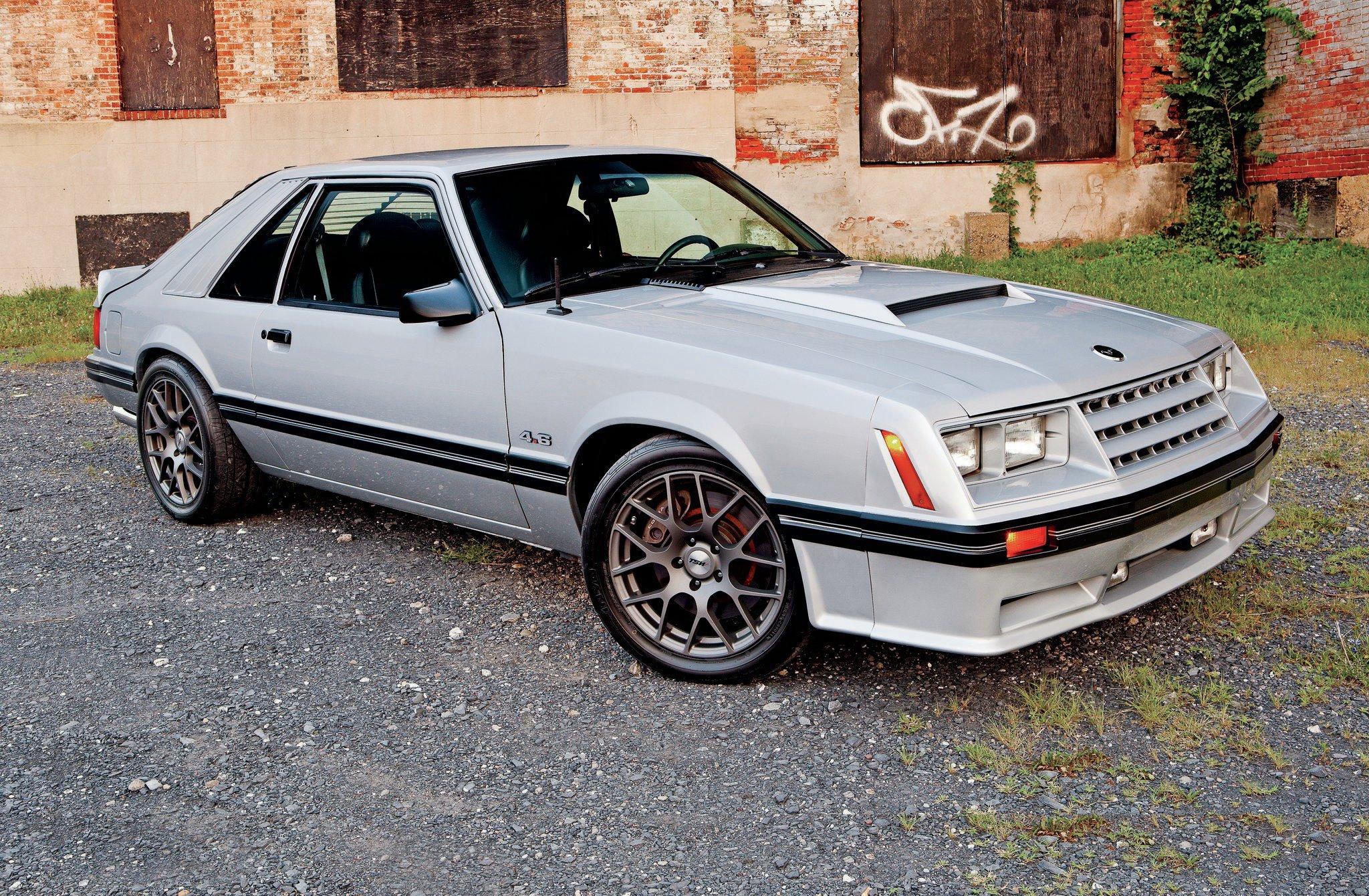 1982 Ford Mustang Gt Mach Cobra Mash Up