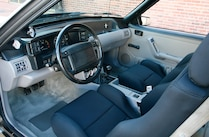 1990 Ford Mustang Ssp Interior