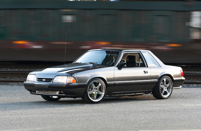 1990 Ford Mustang Ssp Hot Pursuit