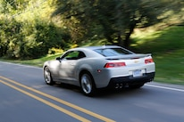 2015 Chevrolet Camaro Rear Three Quarter In Motion