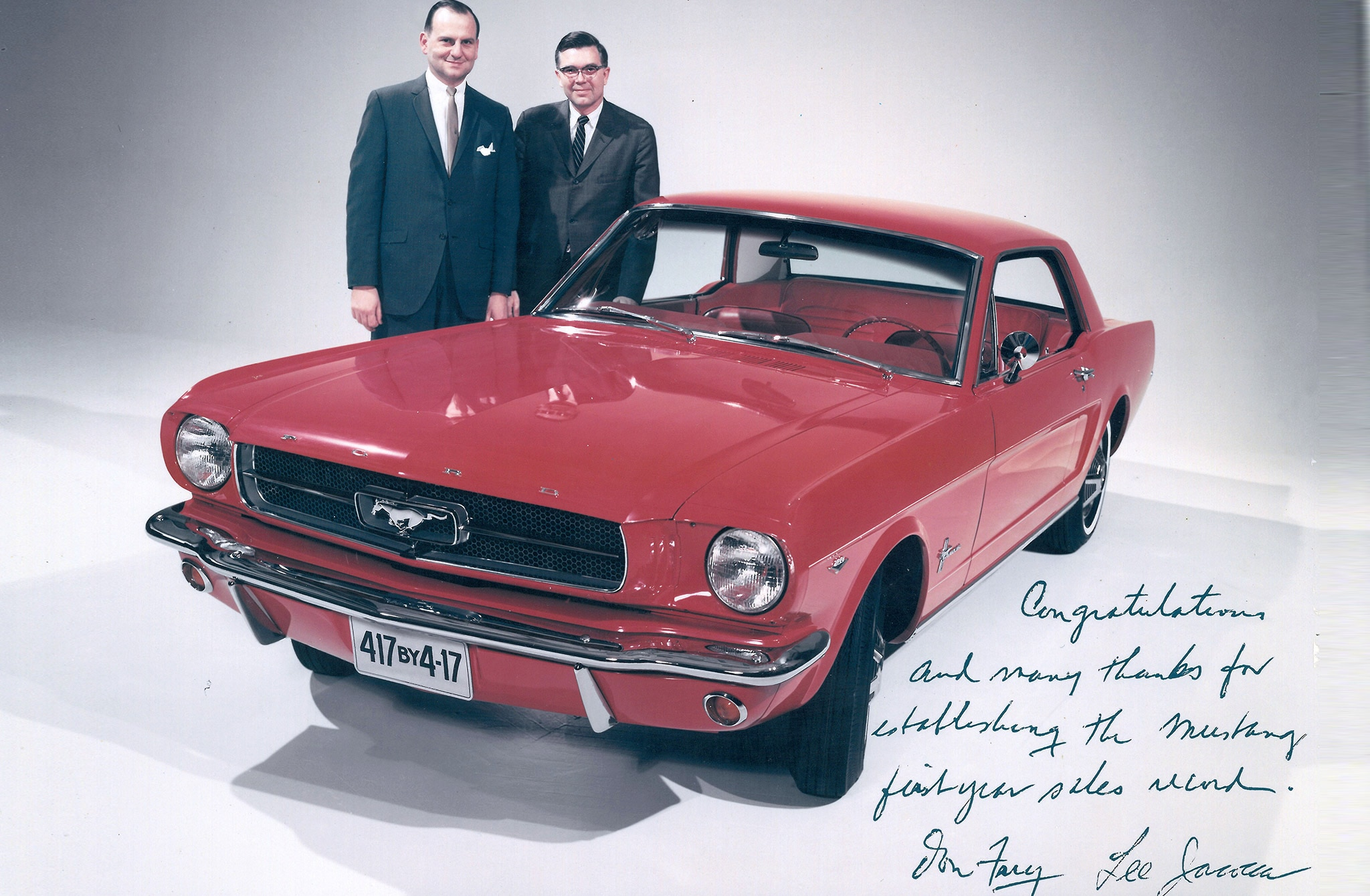 Donald Frey Advertising Mustang