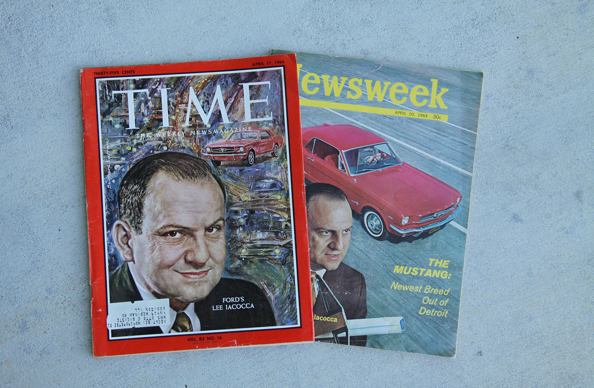 Walter Murphy Mustang Time Magazine