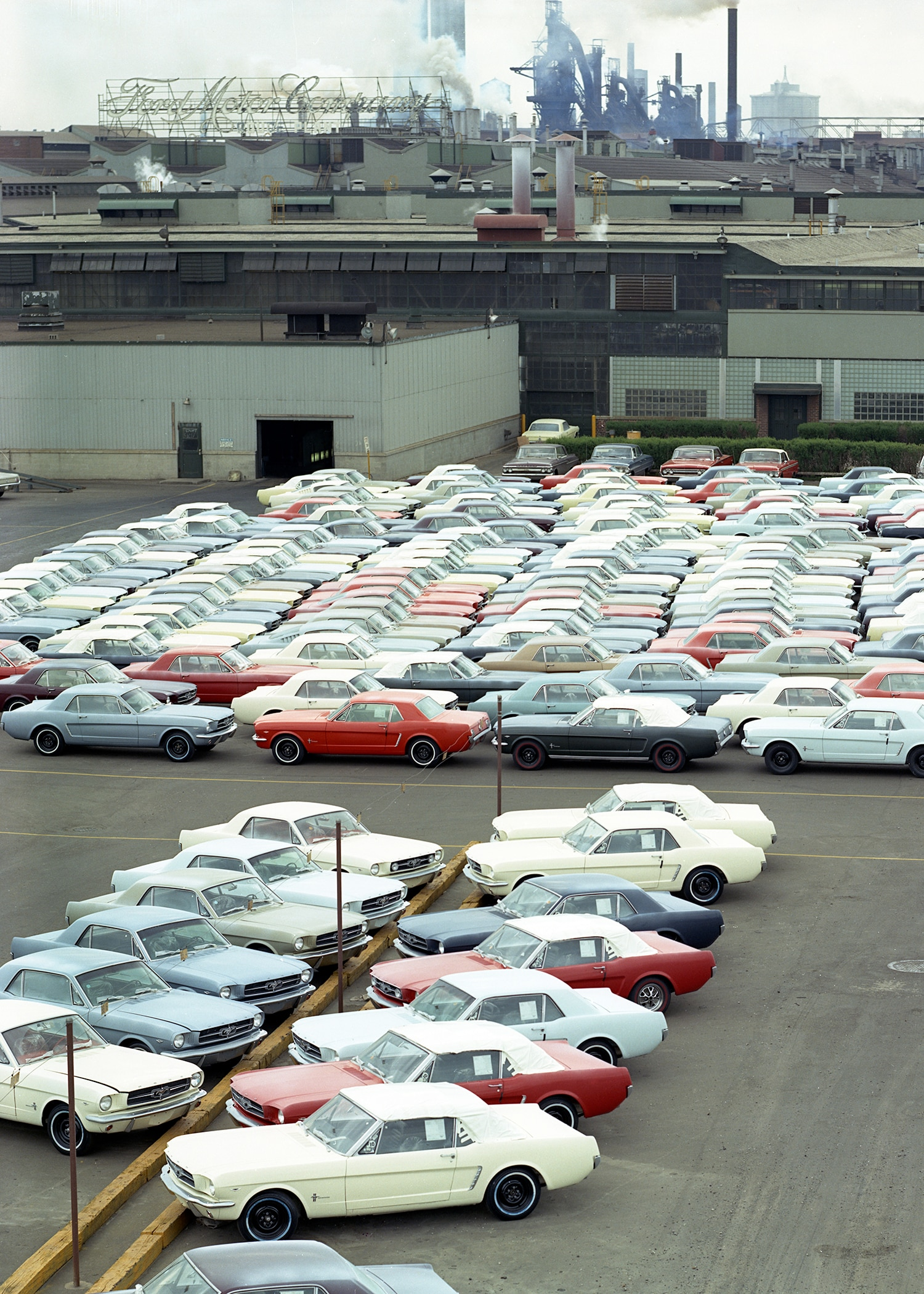Ford Mustang Dearborn Assembly Plant