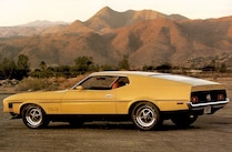 1971 Ford Mustang Boss 351 Promotional