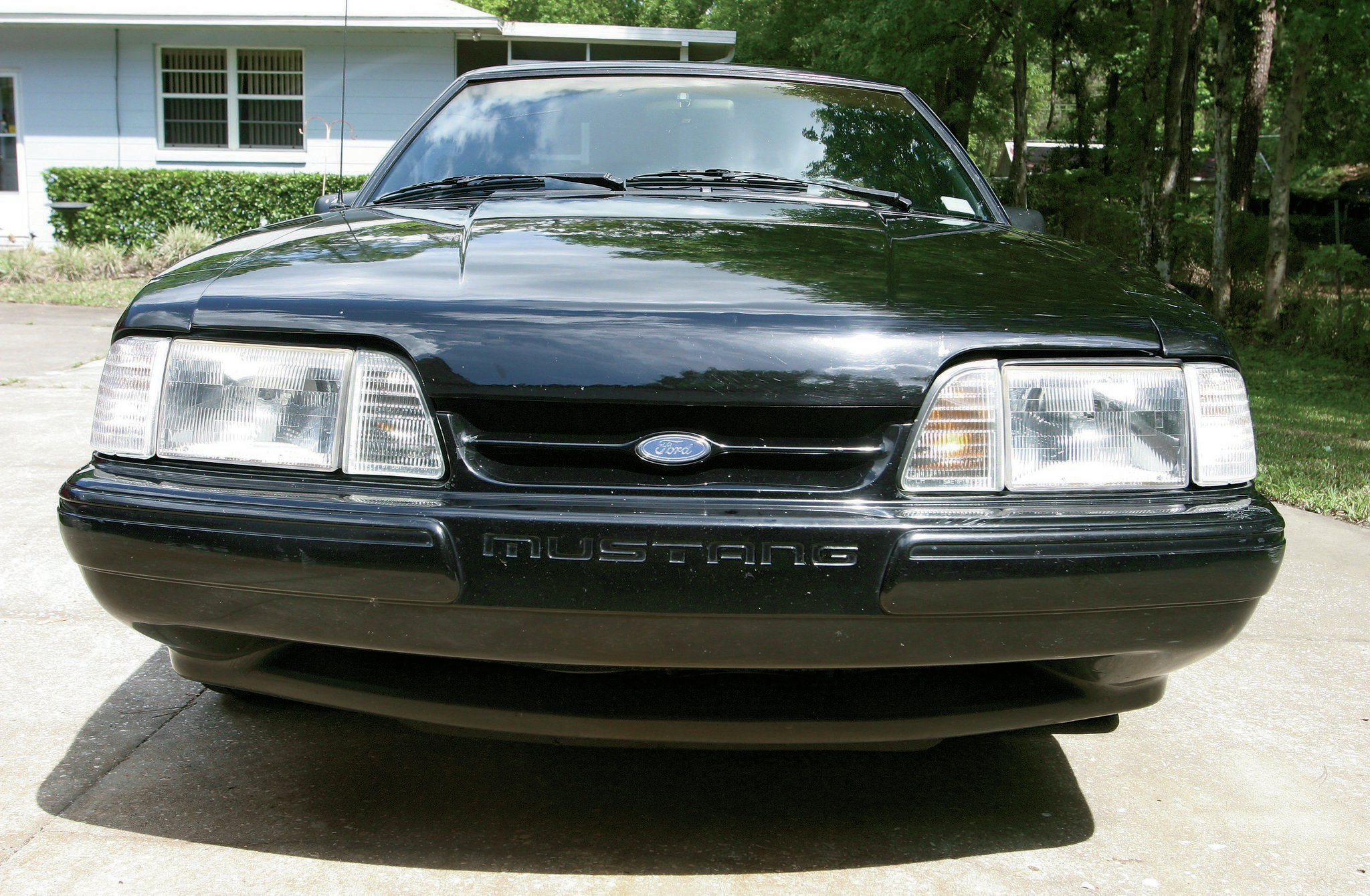 1993 Ford Mustang Stock Bumper