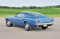 1970 Ford Mustang Sportsroof Rear