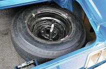 1970 Ford Mustang Sportsroof Tire Trunk