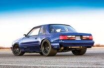 1990 Ford Mustang Rear Three Quarter