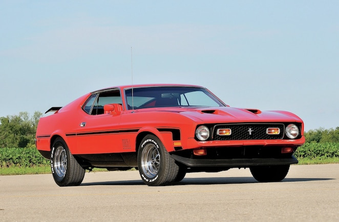 1972 ford mustang mach 1 right place right time