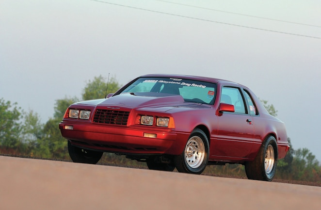 1986 Ford Thunderbird Front Side View